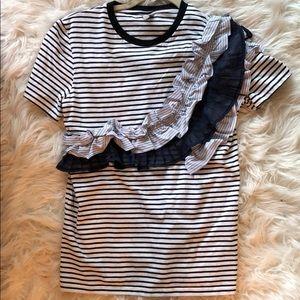 Striped tshirt 💙